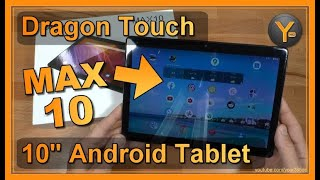 "Noch ein China-Tablet im Test: Das DragonTouch MAX10 (10"" Android 9 Tablet)"