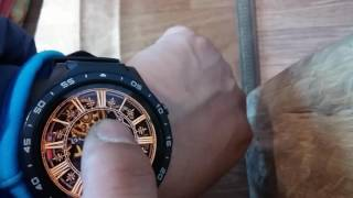 How to ADD clockskin to smartwatch KINGWEAR KW 88 - Видео