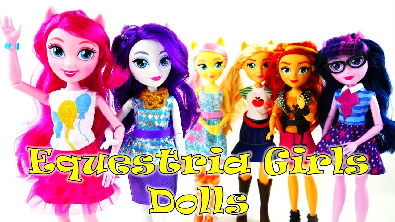 New MLP Equestria Girls Fashion Dolls 2017 Pinkie Pie and Rarity