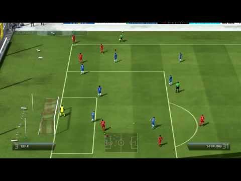 Fifa 14 PC funny glitch :D