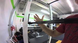 Back Squat Hand Position