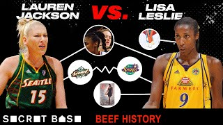 Lauren Jackson ripping Lisa Leslie's hair out heated up a decade-long beef. Was it intentional? thumbnail