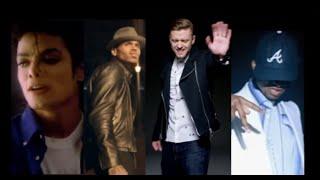 Gambar cover Michael Jackson ft Chris Brown, Justin Timberlake, Usher -