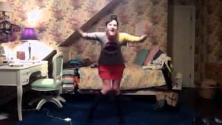 Slo-mo-tion Marilyn Manson Techno dance