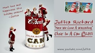 CHOIR IN A CAN: Here We Come A-Wassailing (with Lyrics and Sheet Music)