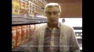 1989 Total Raisin Bran Commercial (Richard Mulligan)