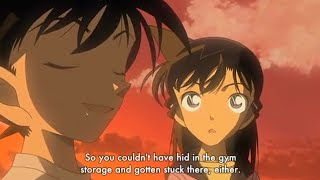 Detective Conan |conan Find 10 Years Ran Cute Scene