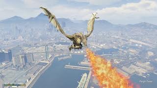 GTA 5 Captain America Mod - Đội Trưởng Mỹ xuất hiện trong GTA 5