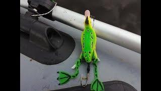 Резиновая приманка для рыбы на щуку