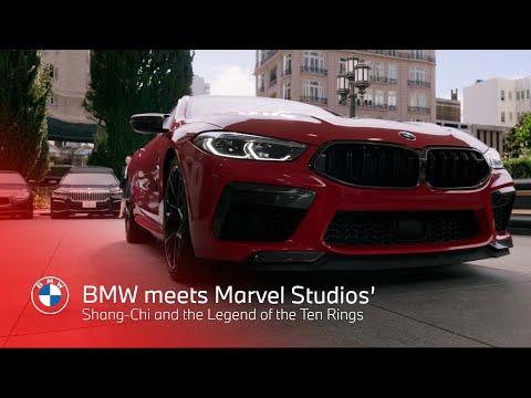 Musique publicité BMW rencontre Shang-Chi de Marvel Studios et le pub Legend of the Ten Rings 2021   Juillet 2021