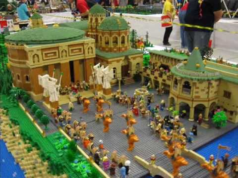 Lego Fan Weekend in Skaerbaek Dänemark Teil 3 - Großanlagen