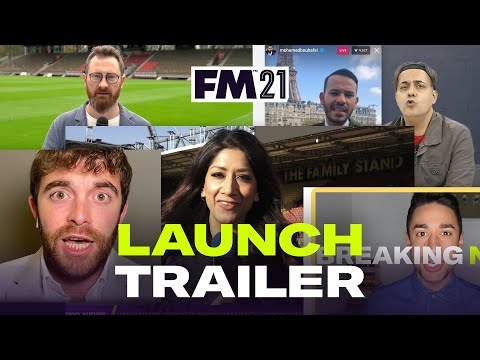Officiële launch trainer van Football Manager 2021