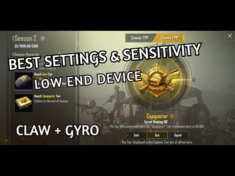 PUBG Perfect Sensitivity Setting for All Android Devices
