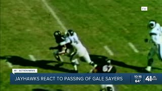 Jayhawks react to passing of Gale Sayers