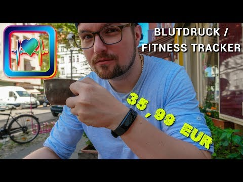 FITNESS TRACKER: Blutdruck messen, Farbdisplay, Band deaktivieren - 96h später Review | CH3 2018