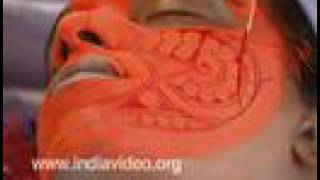 Theyyam kettal: the preparatory make-up