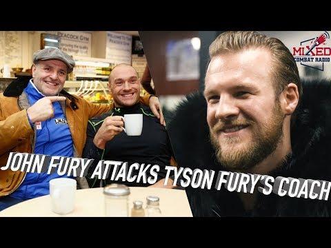 John Fury and Ben Davison TRADE WORDS Over #FuryWallin Struggles for Tyson Fury
