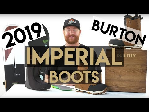 2019 Burton Imperial Snowboard Boots Review