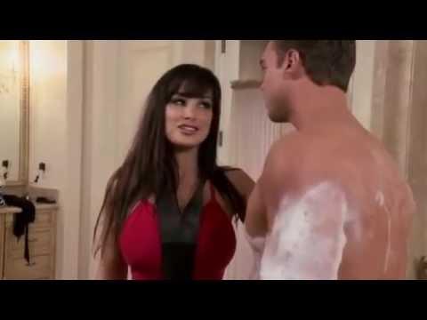Seksi brineta mama porno