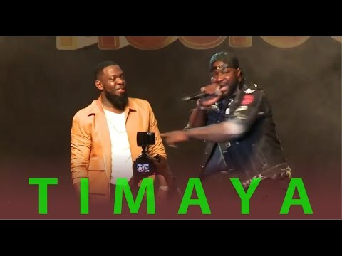 TIMAYA LATEST LIVE PERFORMANCE | GloMega Music Lagos 2017