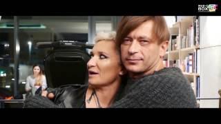 Би 2 - Птица на подоконнике (backstage клипа)