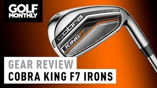 Cobra King F7 Irons Review - Golf Monthly