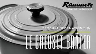 Le Creuset - 1 Bräter viele Möglichkeiten