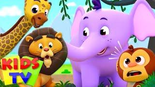ABC Song | Five Little Monkeys | Baby Shark & More Children Songs | Nursery Rhymes - Kids Tv