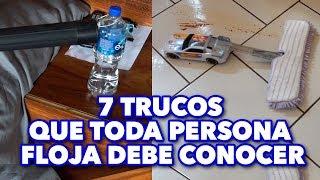 7 TRUCOS QUE TODA PERSONA FLOJA DEBE CONOCER. MAIRE VS EL INTERNET