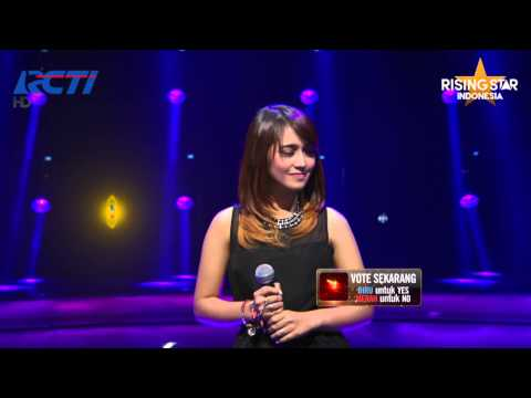"Mustika Kamal ""Cinta Datang Terlambat"" Maudy Ayunda - Rising Star Indonesia Live Audition Eps 4 - Rising Star Indonesia"
