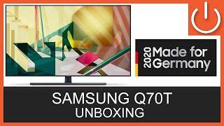 UNBOXING - SAMSUNG Q70T Serie 2020