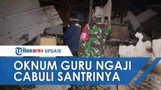 Warga di Garut Ngamuk lalu Bakar Bangunan Mengaji karena Gurunya Diduga Lecehkan Santrinya