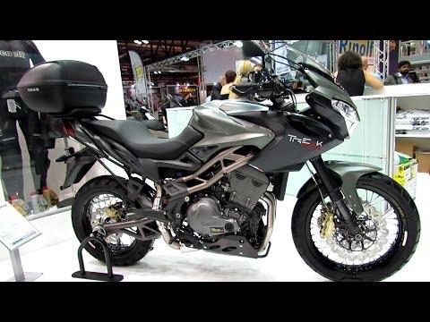 2014 Benelli Tre 1130 K Amazonas Walkaround - 2013 EICMA Milano Motorcycle Exhibition