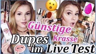 GÜNSTIGE & KRASSE AMAZON DUPES Im LIVE TEST I MEGA FAIL Kylie Jenner Benefit NYX