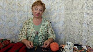 """Мастер класс по вязанию крючком. Как связать крючком? МК  элемента """"Вишневый ликер"""" со схемой."""