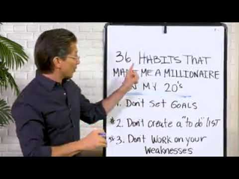 Why In The World Would Dean Graziosi Be Giving Away His Hot New Book Millionaire Success Habits... F