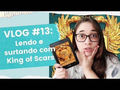 VLOG #13: SURTANDO com KING OF SCARS, da Leigh Bardugo (SEM / COM SPOILERS) ? | Biblioteca da Rô
