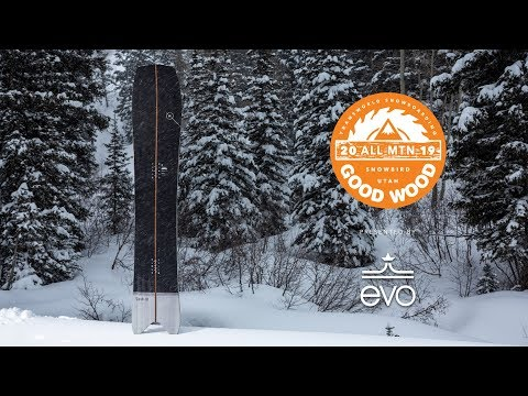 Nitro Squash Review: Men's All-Mountain Winner – Good Wood Snowboard Test 2018-2019