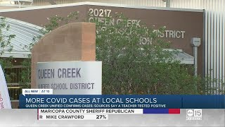 More COVID Cases At Arizona Schools