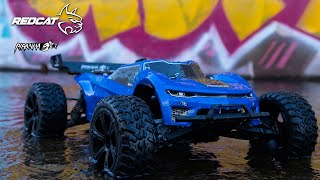 Redcat Piranha TR10 RC Car - 1:10 Brushed 2WD Electric Truggy