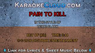 Terri Clark - Pain To Kill (Backing Track)