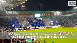 FCM-Choreo gegen BVB