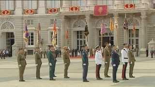 preview picture of video 'Saludo de las Fuerzas Armadas y Guardia Civil a Su Majestad el Rey'
