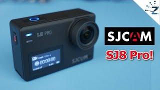 SJCAM SJ8 Pro Unboxing, Hands On! 4K 60FPS Samples... | Kholo.pk