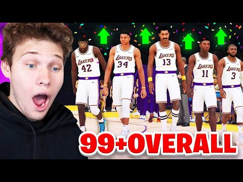 THE BEST NBA 2K19 TEAM POSSIBLE! ALL GALAXY OPAL