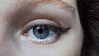THE easiest way to get winged eyeliner