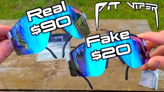 How to Tell the Difference Between REAL and FAKE Pit Viper Sunglasses