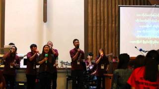 Myanmar Christian Youths Fellowship praise and worship lead by WBCF youth