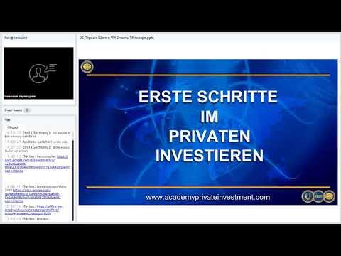 , title : 'Die ersten Schritte in der privaten Investition mit Andrei Khovratov. 3 Sitzung. 2 Teil (25.01.2020)