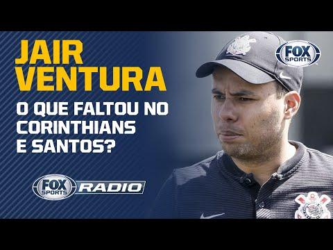 O QUE FALTOU NO CORINTHIANS E SANTOS? Jair Ventura respondeu isso e mais no FOX Sports Rádio!